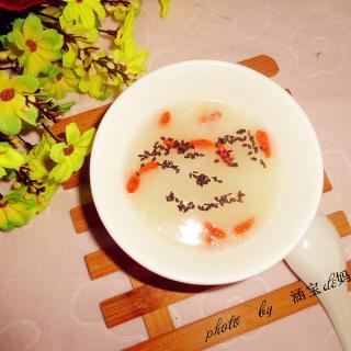 大米燕麦枸杞粥