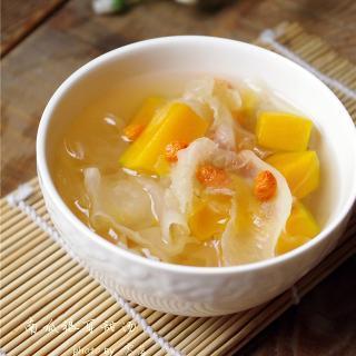 南瓜银耳甜汤