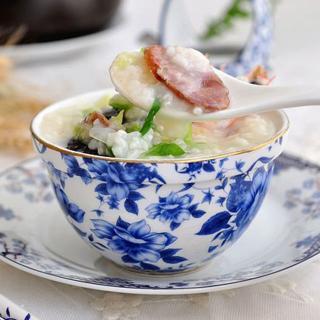 腊味海鲜粥