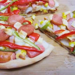 新奥尔良烤肉披萨