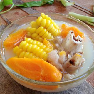 玉米筒骨汤