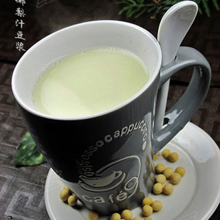 椰梨汁豆浆