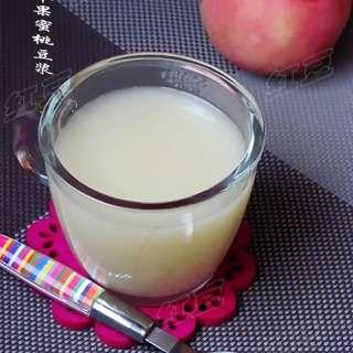 苹果蜜桃豆浆
