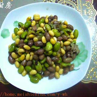 花生豆子咸菜