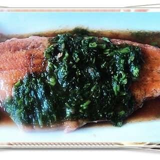 茴香三文鱼