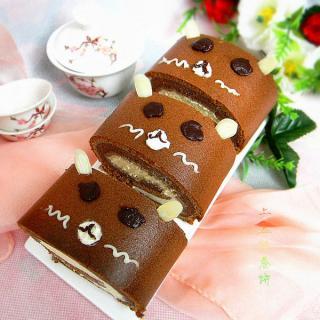 萌熊可可奶油蛋糕