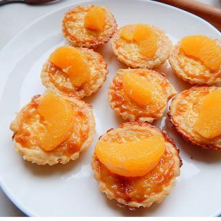 香橙子蛋挞