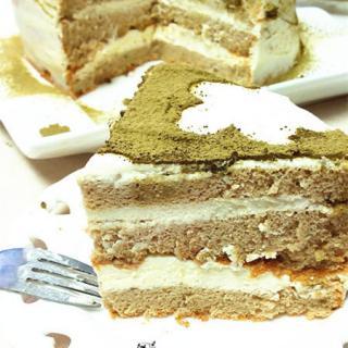 云朵抹茶蛋糕