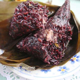 黑糯米粽子