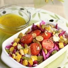 油醋汁蔬果沙拉