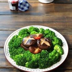 香菇西兰花