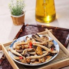 海蛎炒什锦蘑菇