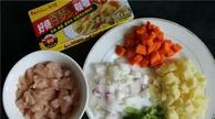 大白鸡肉土豆咖哩饭