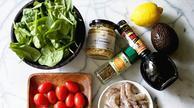 美味低热量油醋鲜虾沙拉