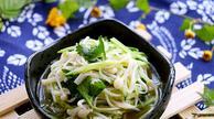 营养美味小菜―凉拌金针菇
