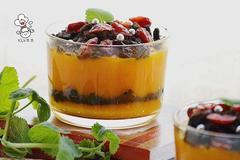 夏季冰凉甜品:奥利奥南瓜杯