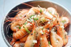 蒜香罗勒沼虾