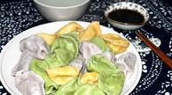 孩子爱吃的彩色饺子