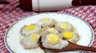 营养丰富的肉沫蒸鹌鹑蛋