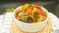 黄花菜煮肉丸