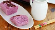 好吃又好看:紫薯发糕