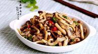 增强免疫力保肝解毒:菌菇炒肉片