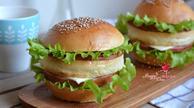 上班族快手早餐:自制美味汉堡