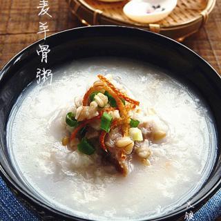 燕麦羊骨粥