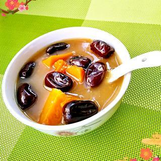 南瓜红枣小米粥