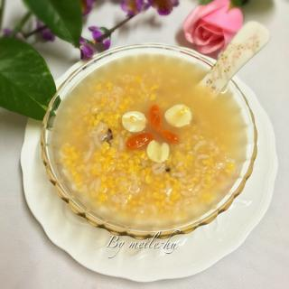 黄金玉米莲子粥