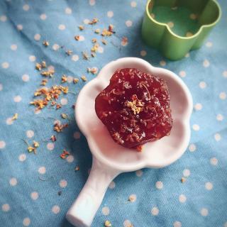 红枣黑糖桂花糕