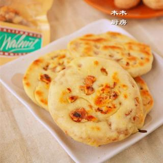 香煎核桃饼