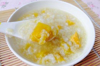 健脾养胃大小米红薯粥