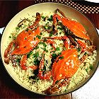 瑶柱香菇焗蟹饭