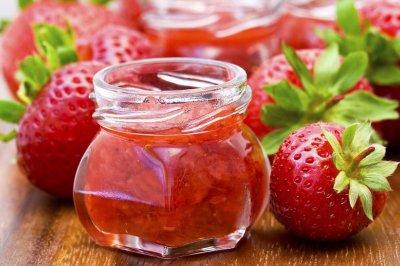 美味草莓酱