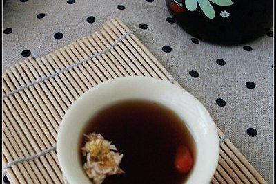 杞枣菊花普洱茶
