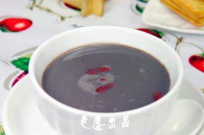 滋阴补肾黑豆米浆