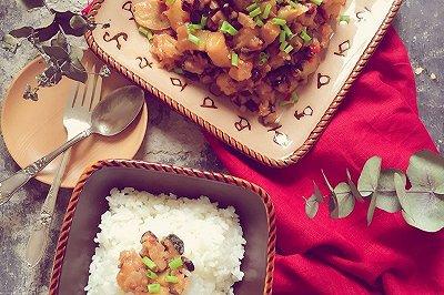 小土豆焖香菇