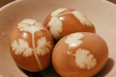 印花茶鸡蛋