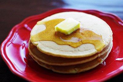 经典美式早餐:松饼