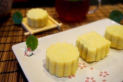 清爽去暑绿豆糕