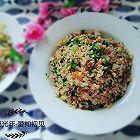 小白菜葱香蛋炒饭