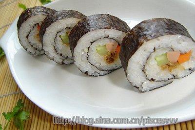 自制简易寿司