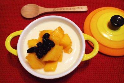 芒果牛奶炖蛋