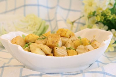 圆白菜炒馒头