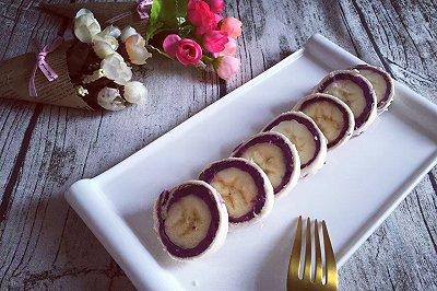 紫薯吐司卷