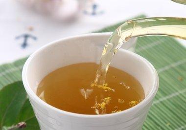 荷叶桂花茶