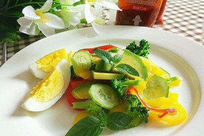 炫彩蔬菜沙拉