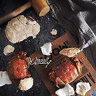 日式盐烤蟹