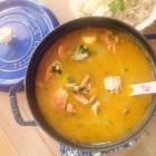 大闸蟹海鲜汤